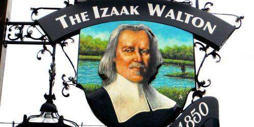 Izaak walton Inn new sign