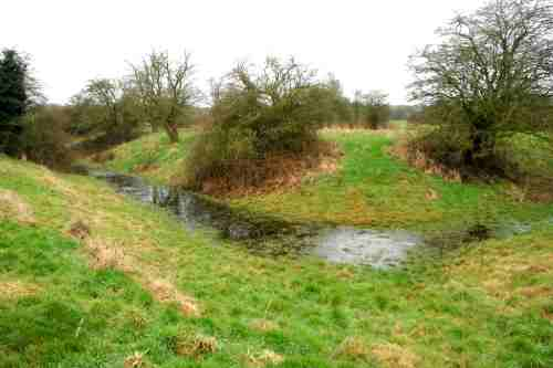 Malbank moat at hilderstone